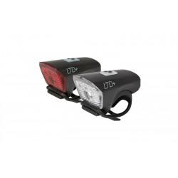 Cube Lighting Set LTD | Black Or White | 40 Lumen White | 25 Lumen Red