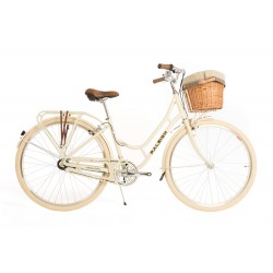 Raleigh Fern | Ladies Geritage Bike | Cream Frame | SRAM 3 Speed Gearing