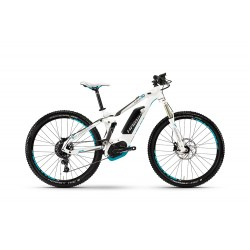 Haibike XDURO Full Life 5.0 | Electric Bike | 500 HPA | White Frame