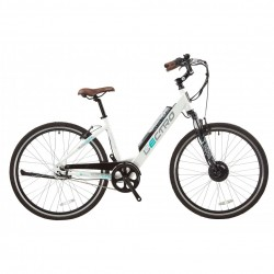 Lectro Urban City | Ladies E Bike | 7 Speed | 36 V | White Frame | Bikes24-7.com