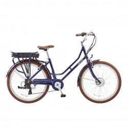 Lectro Vintage E Bike | Low Step Over Blue Frame | 36V | 7 Speed