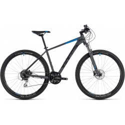 Cube AIM Race | Hardtail Mountain Bike | Grey 2018 Frame