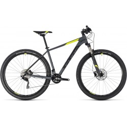 Cube Attention SL | Hardtail Mountain Bike | Grey/Yellow 2018 Frame