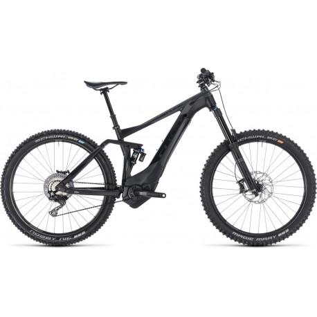 Cube Stereo Hybrid 160 SL | Electric Bike | Black/Grey 2018 Frame | Bosch Power