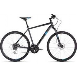 CUBE NATURE ALL ROAD | IRIDIUM / BLUE | ADULTS ROAD BIKE 2019