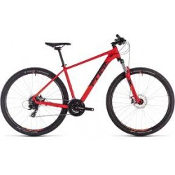CUBE AIM | RED/ORANGE OR BLACK/BLUE | ADULT MOUNTAIN BIKE 2019
