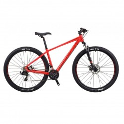 "RIDDICK RD229 | RED | 21 SPEED ALLOY MOUNTAIN BIKE | 17"" 19"""