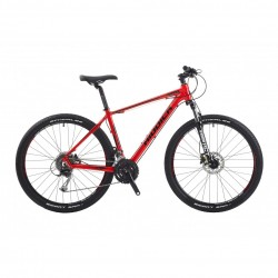 "RIDDICK RD400 | RED | 27 SPEED | ADULTS MOUNTAIN BIKE | 16"" 18"" 20"""
