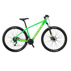 "RIDDICK RD329 | BRIGHT GREEN | 24 SPEED | ADULTS MOUNTAIN BIKE | 17"" 19"""