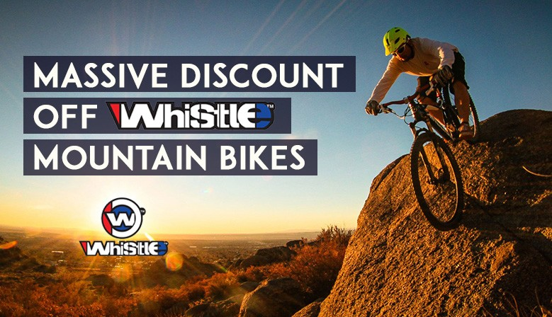See our range of Whistle Mountain bikes at massive discount prices